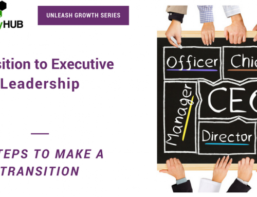 Transition to Executive Leadership